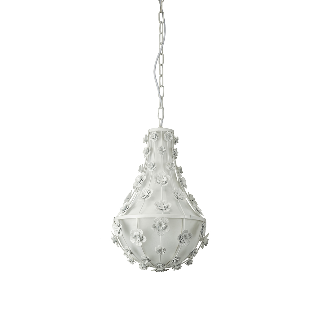 Floral Lace Chandelier 30cm by Early Settler, a Pendant Lighting for sale on Style Sourcebook
