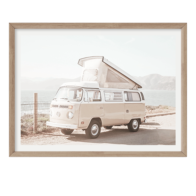 Peachy Kombi by Boho Art & Styling, a Prints for sale on Style Sourcebook