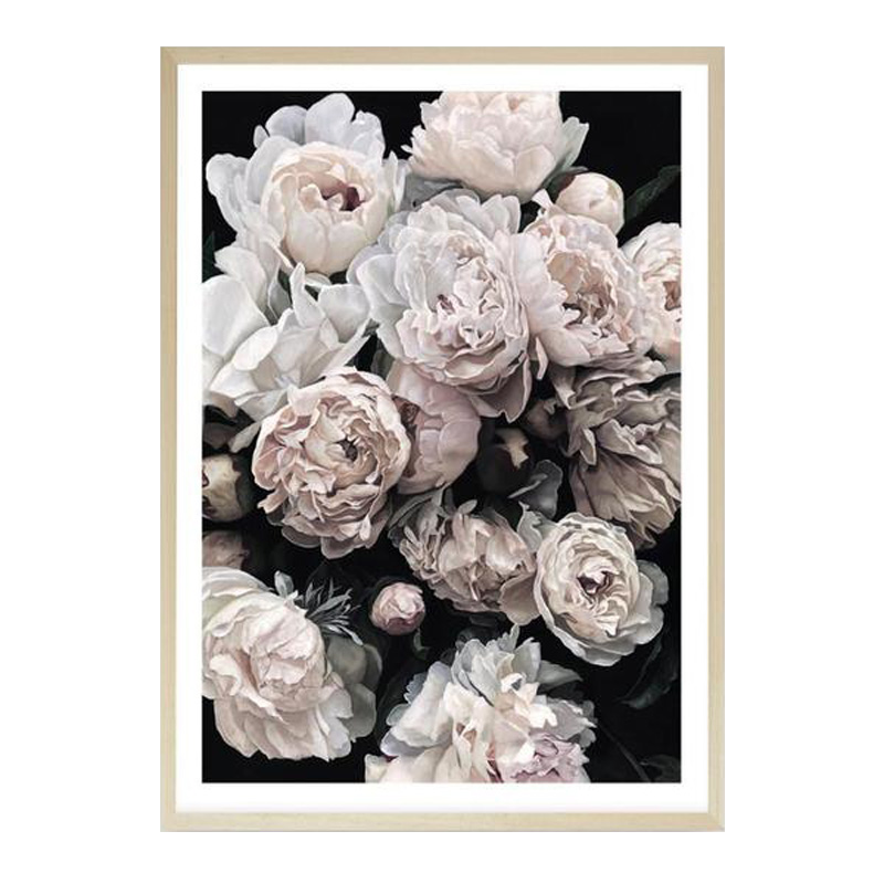 Dark Blooms II (Square) Art Print by The Print Emporium, a Prints for sale on Style Sourcebook