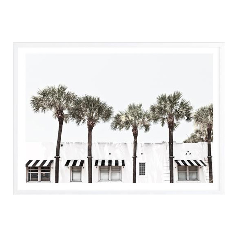 Miami II Photo Art Print by The Print Emporium, a Prints for sale on Style Sourcebook