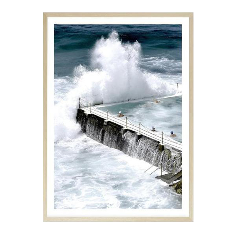 Bondi Storm I Photo Art Print by The Print Emporium, a Prints for sale on Style Sourcebook