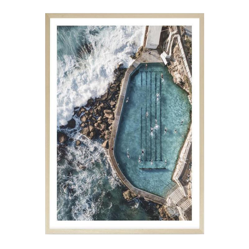 Bronte Ocean Pool II Photo Art Print by The Print Emporium, a Prints for sale on Style Sourcebook