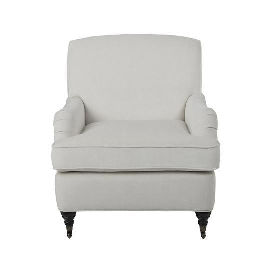 Porter Armchair Chalk by Mayvyn Interiors, a Chairs for sale on Style Sourcebook