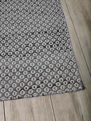 """Braid """"Hive"""" Floor Rug - Charcoal by Urban Rhythm, a Contemporary Rugs for sale on Style Sourcebook"""