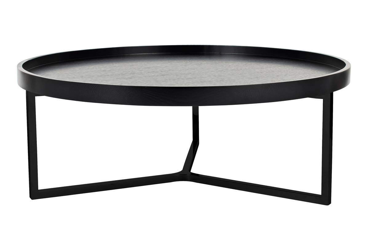 Tivoli Round Coffee Table - Black by Urban Rhythm, a Coffee Table for sale on Style Sourcebook