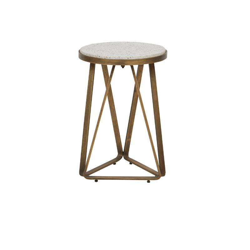 Amelie Luna Terrazzo Side Table by Urban Rhythm, a Side Table for sale on Style Sourcebook