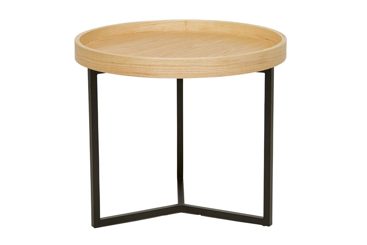 Tivoli Round Side Table - Natural by Urban Rhythm, a Side Table for sale on Style Sourcebook