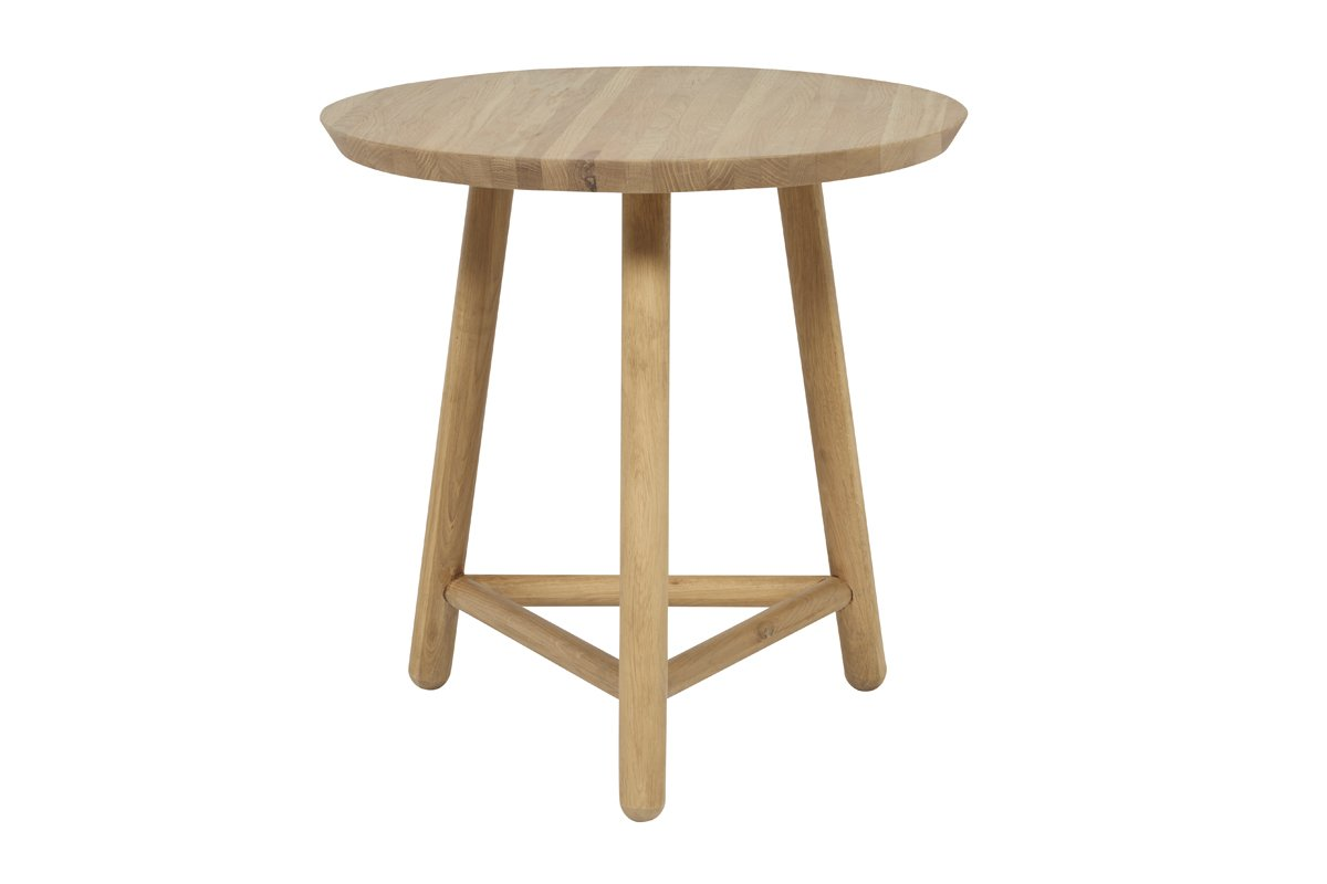 Linea Tri Base Side Table - Natural by Urban Rhythm, a Side Table for sale on Style Sourcebook