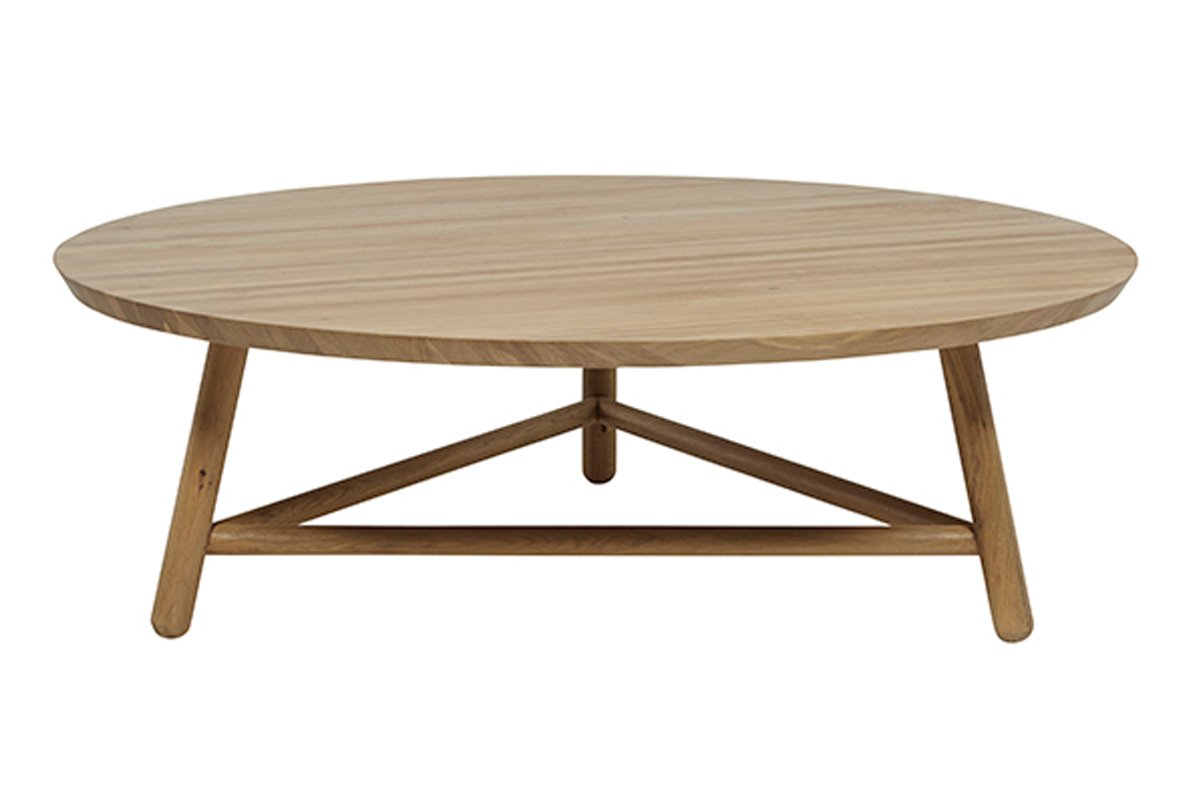 Linea Tri Base Coffee Table - Natural by Urban Rhythm, a Coffee Table for sale on Style Sourcebook
