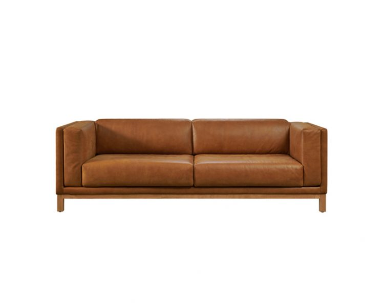 Ellison 3 Seat Sofa by Bay Leather Republic, a Sofas for sale on Style Sourcebook