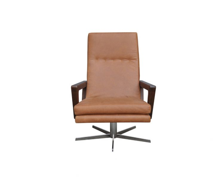 Swivel Occasional Chair by Bay Leather Republic, a Chairs for sale on Style Sourcebook