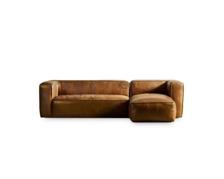 Harlem 2 Piece Modular by Bay Leather Republic, a Sofas for sale on Style Sourcebook