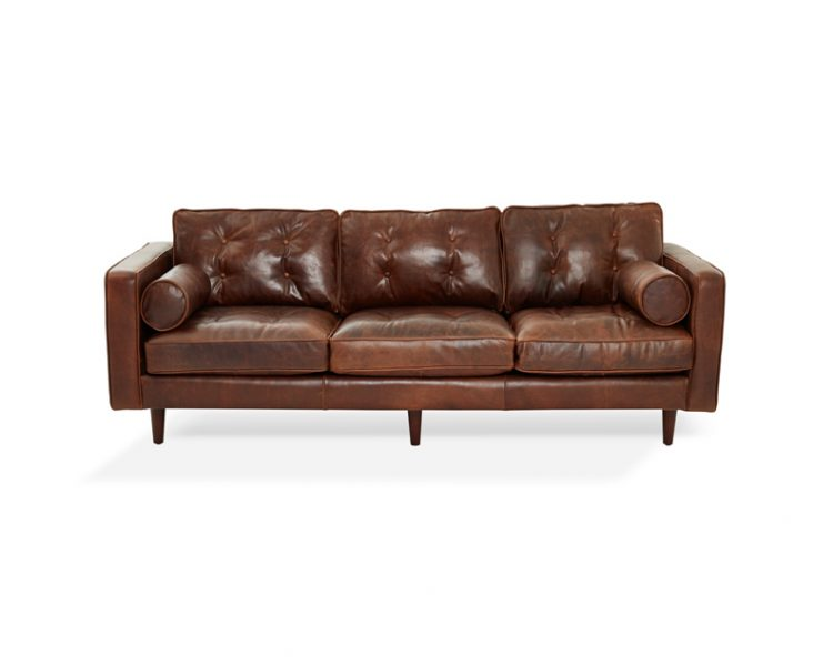 Olsen 3 Seat Sofa by Bay Leather Republic, a Sofas for sale on Style Sourcebook