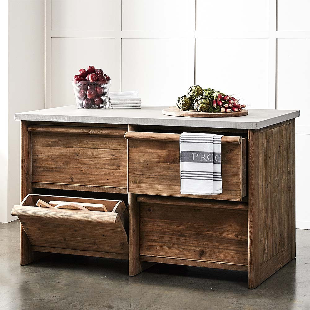 Moran Kitchen Island by Provincial Home Living, a Dining Tables for sale on Style Sourcebook