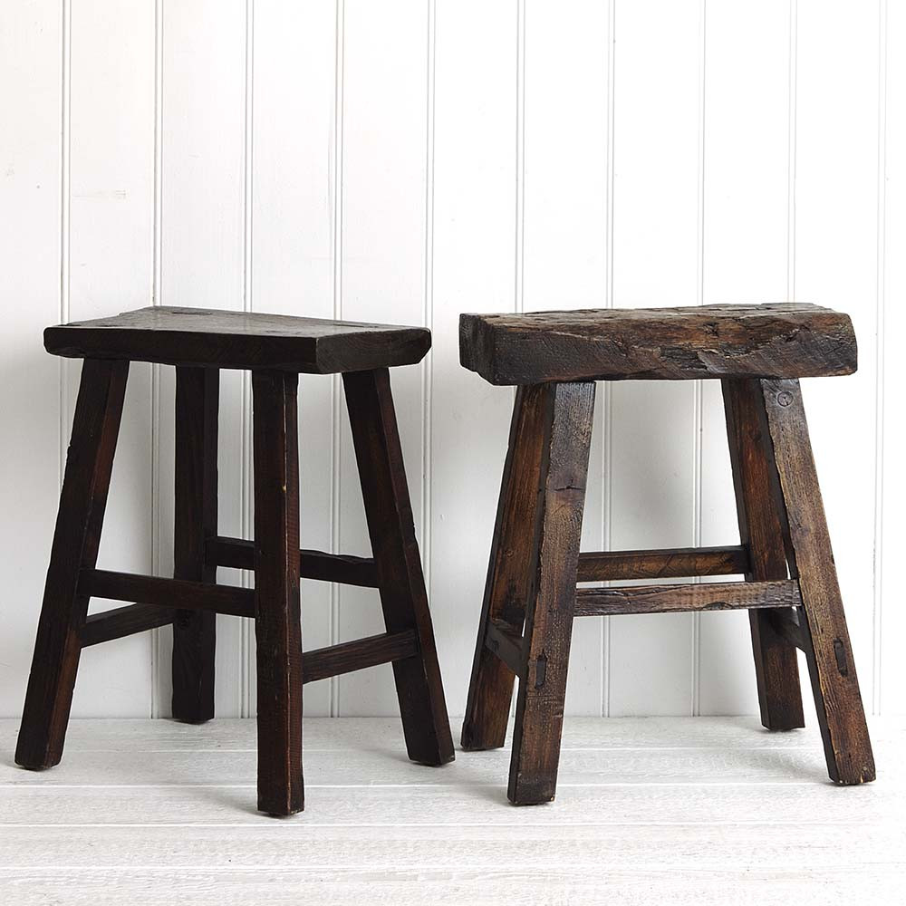 Albany Antique Milking Stool by Provincial Home Living, a Stools for sale on Style Sourcebook