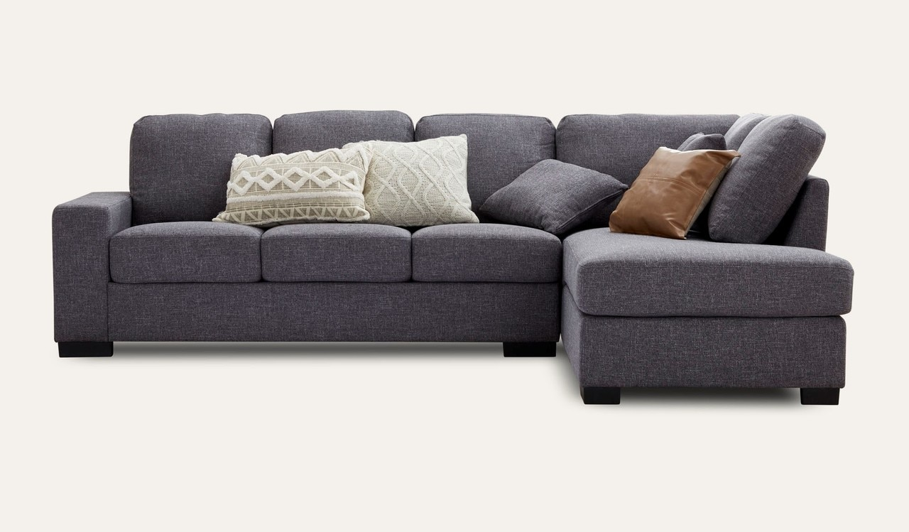 Ontario 5 seater chaise by Focus On Furniture, a Sofas for sale on Style Sourcebook
