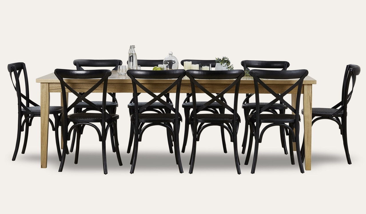 11pce Belgrave dining suite by Focus On Furniture, a Dining Sets for sale on Style Sourcebook