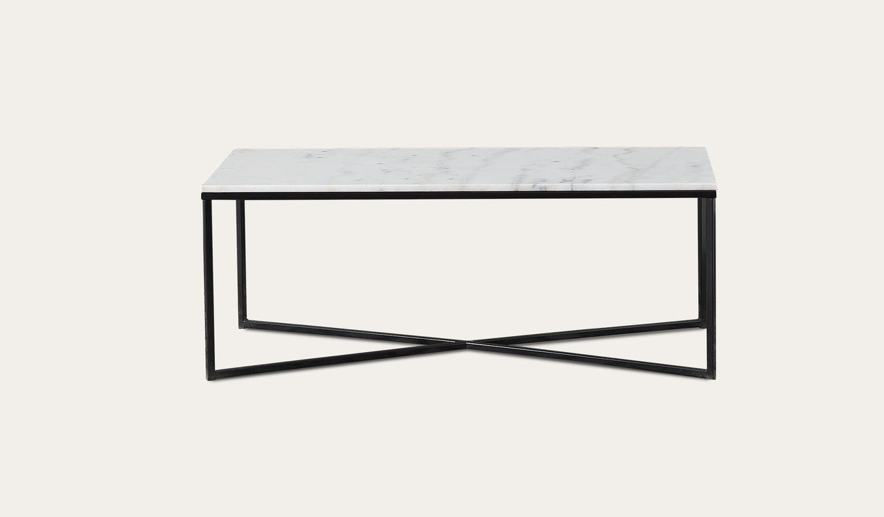 Alisma rectangle marble coffee table by Focus On Furniture, a Coffee Table for sale on Style Sourcebook