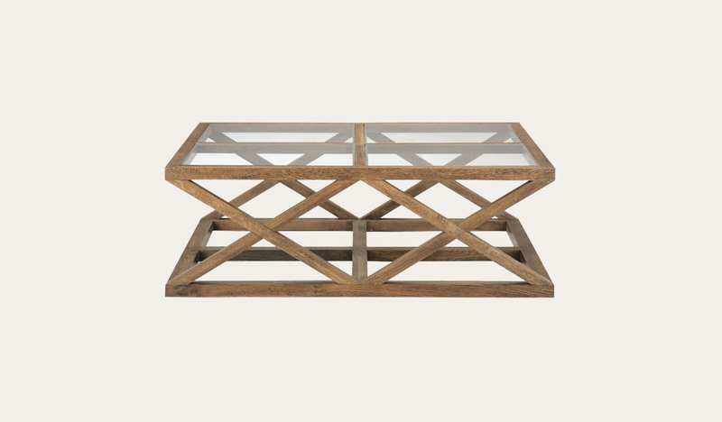 Colada coffee table 4 glass by Focus On Furniture, a Coffee Table for sale on Style Sourcebook