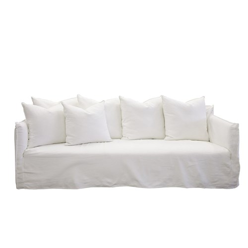 Como White 3 Seater Sofa (Deep) by James Lane, a Sofas for sale on Style Sourcebook