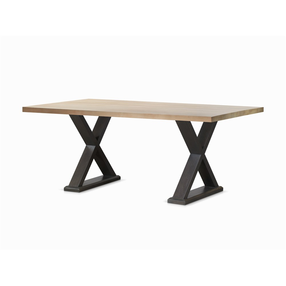 Camden 2400 Ash Veneer & Chalk Elm Dining Table by James Lane, a Dining Tables for sale on Style Sourcebook