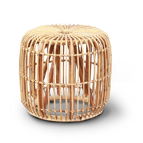 Amisha Natural Stool by James Lane, a Side Table for sale on Style Sourcebook