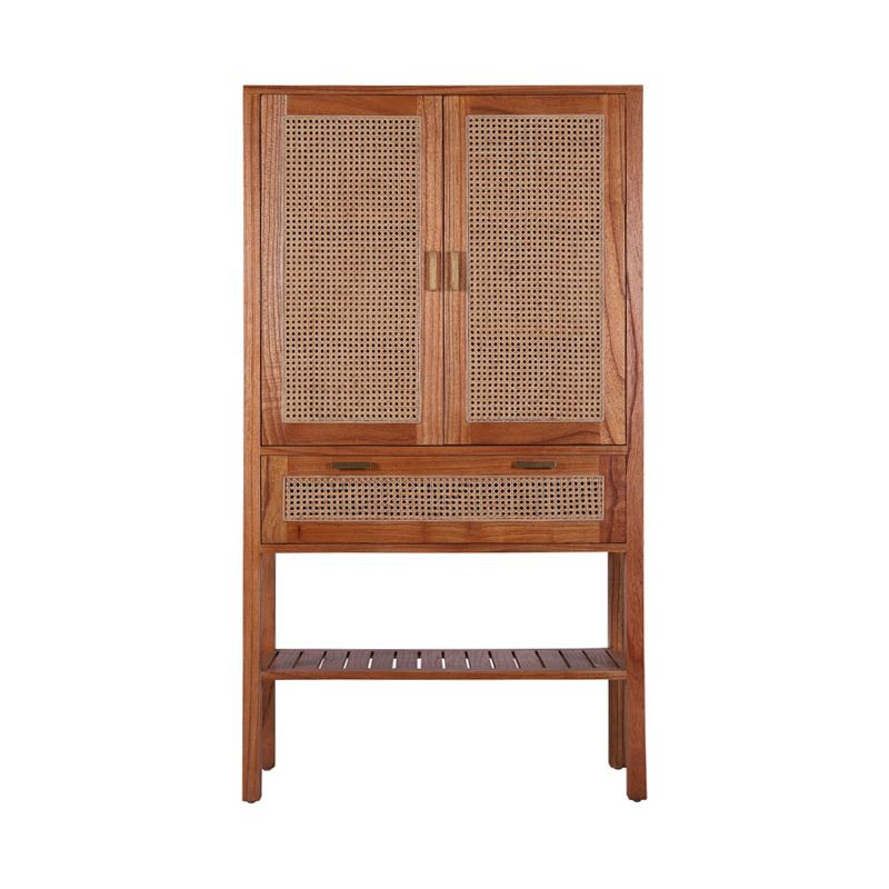 Rita storage cabinet in mindi/rattan by Oz Design Furniture, a Cabinets, Chests for sale on Style Sourcebook