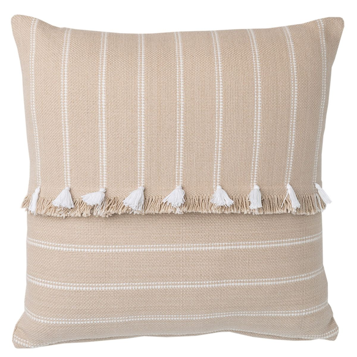 Arida Cushion w/ Fringe & Detail by Oz Design Furniture, a Cushions, Decorative Pillows for sale on Style Sourcebook