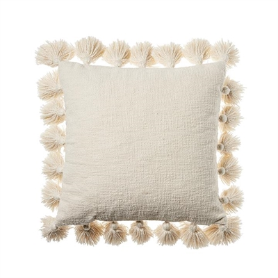 Home Republic Aries Cushion 45x45cm Natural By Adairs by Adairs, a Cushions, Decorative Pillows for sale on Style Sourcebook