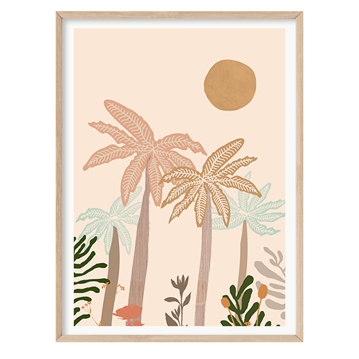 Palm Life II by Boho Art & Styling, a Original Artwork for sale on Style Sourcebook