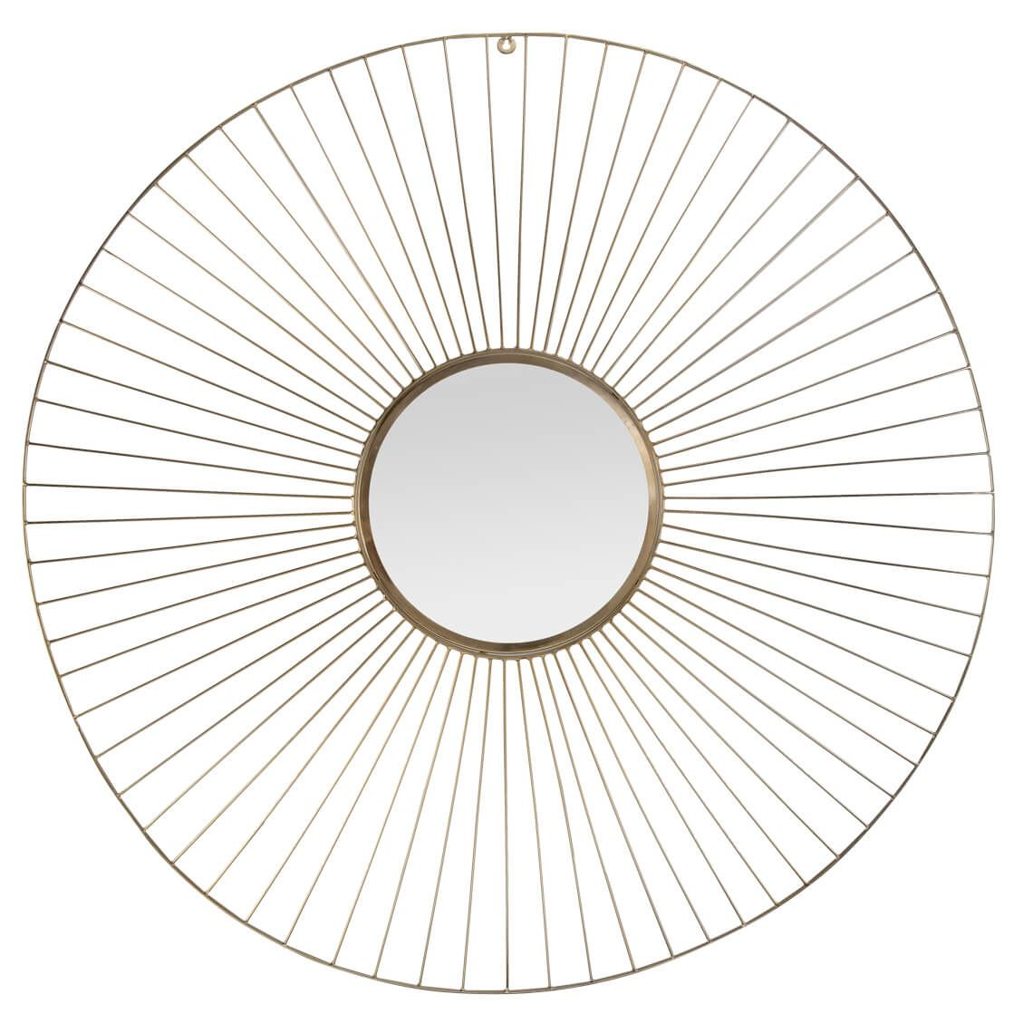 Armier Mirror Colour Size W 100cm x D 100cm x H 3cm in Gold Freedom by Freedom, a Mirrors for sale on Style Sourcebook