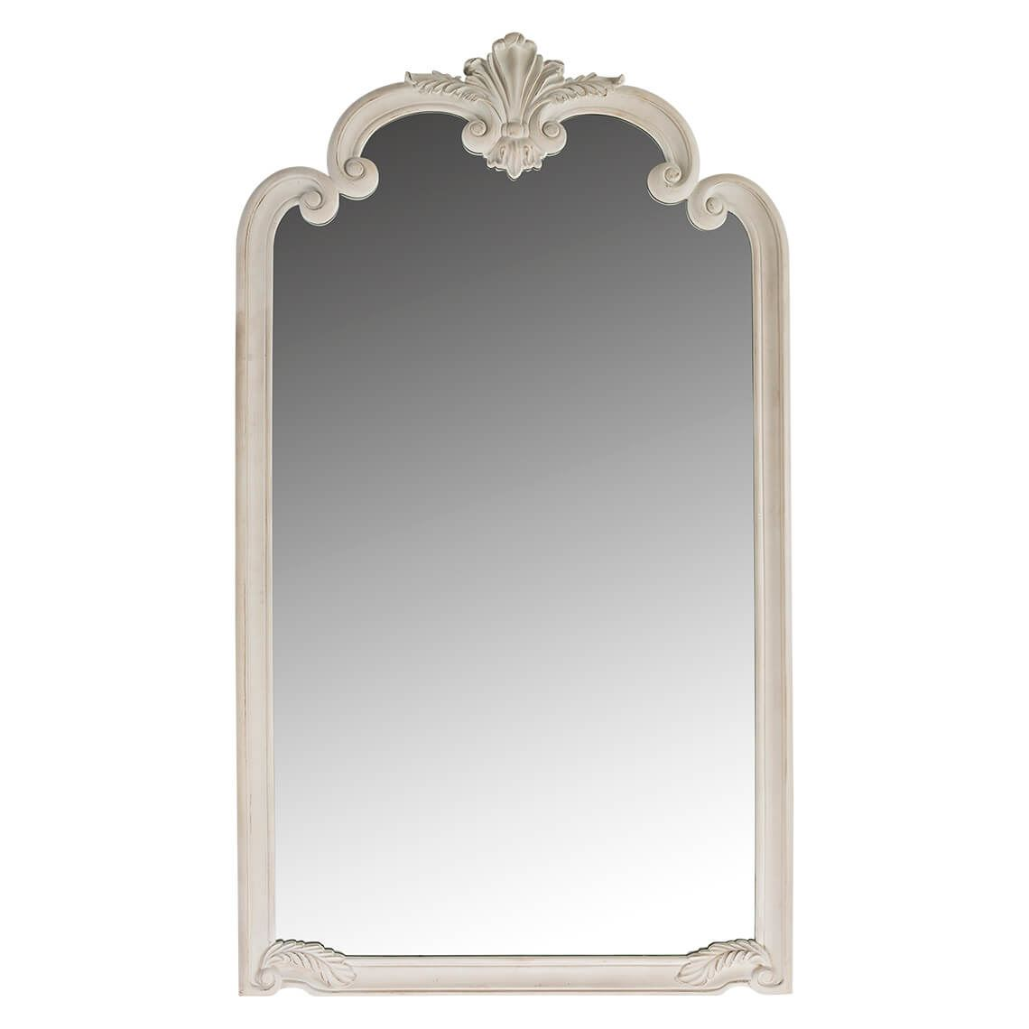 Elsa Mirror Size W 104cm x D 6cm x H 185cm in White Wash Polyurethane/Glass Freedom by Freedom, a Mirrors for sale on Style Sourcebook