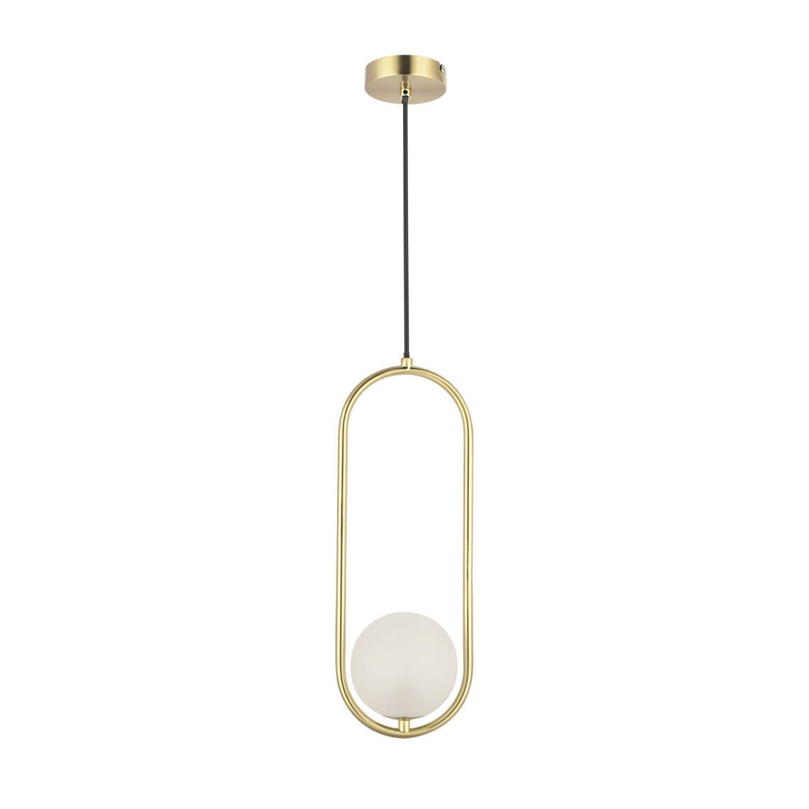 Mayuko Led 2W G9 Ceiling Pendant Light, Colour Size W 15cm x D 12cm x H 127cm in Gold Freedom by Freedom, a Pendant Lighting for sale on Style Sourcebook