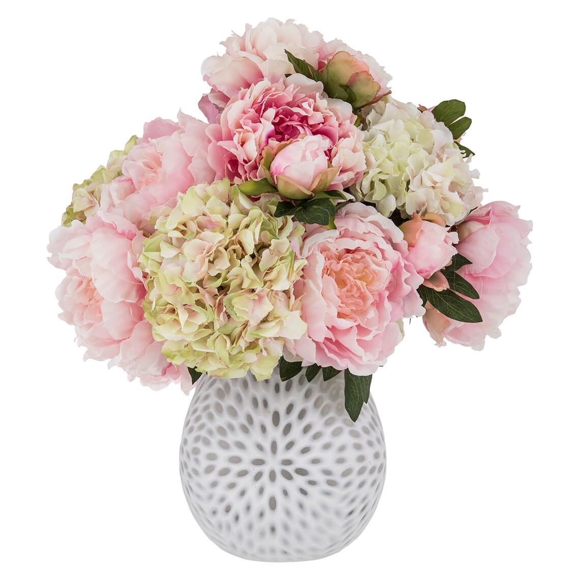 Hydrangea Mix Size W 46cm x D 46cm x H 53cm in Pink Freedom by Freedom, a Plants for sale on Style Sourcebook