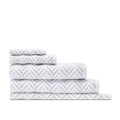 Home Republic Mimosa Textured Towel  White Marle  - Whitemarle By Adairs by Home Republic, a Towels & Washcloths for sale on Style Sourcebook
