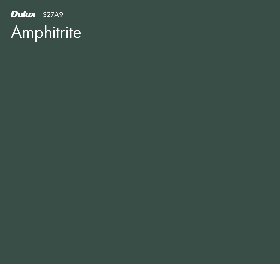 Amphitrite by Dulux, a Greens for sale on Style Sourcebook