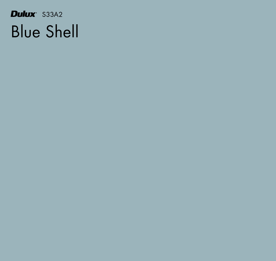 Blue Shell by Dulux, a Blues for sale on Style Sourcebook