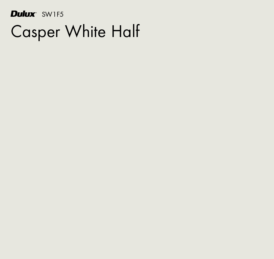 Casper White Half by Dulux, a Whites and Neutrals for sale on Style Sourcebook