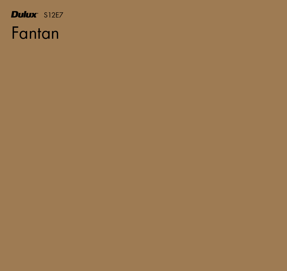 Fantan by Dulux, a Browns for sale on Style Sourcebook