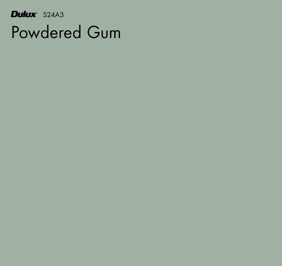 Powdered Gum by Dulux, a Greens for sale on Style Sourcebook