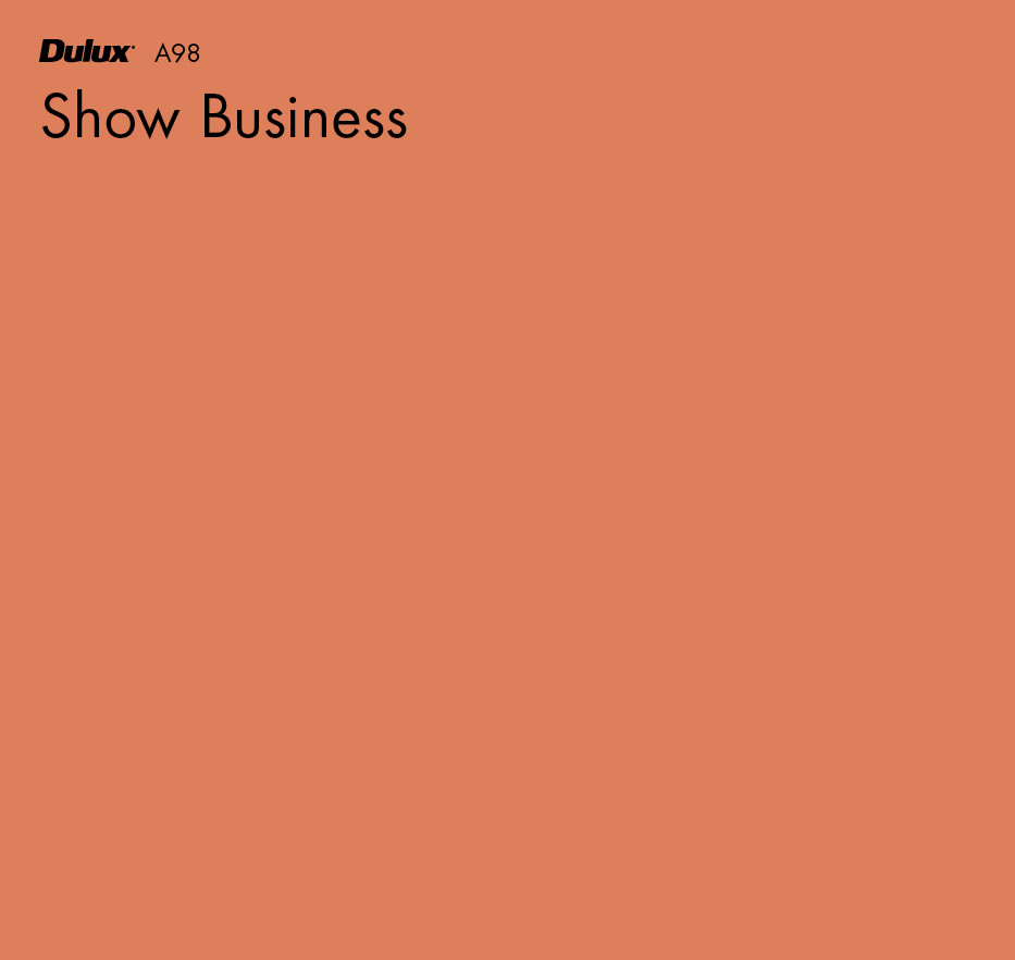 Show Business by Dulux, a Oranges for sale on Style Sourcebook