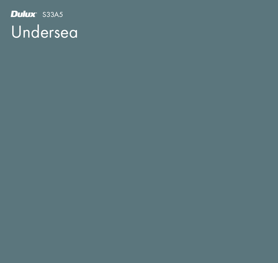Undersea by Dulux, a Blues for sale on Style Sourcebook