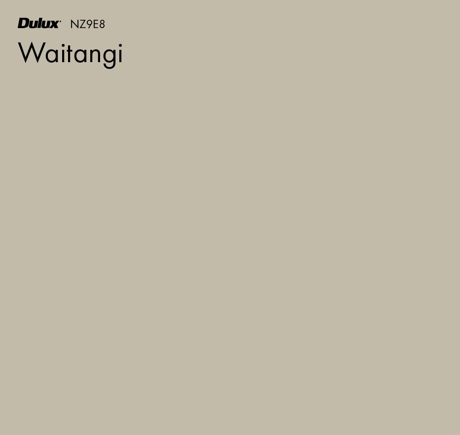Waitangi by Dulux, a Browns for sale on Style Sourcebook