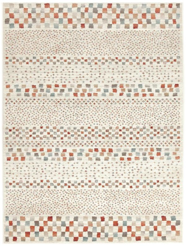 Oxford Mayfair Squares Bone by Unitex International, a Contemporary Rugs for sale on Style Sourcebook