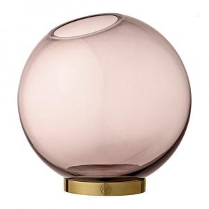 AYTM - Globe Vase - Rose & Gold - Large by AYTM, a Vases & Jars for sale on Style Sourcebook