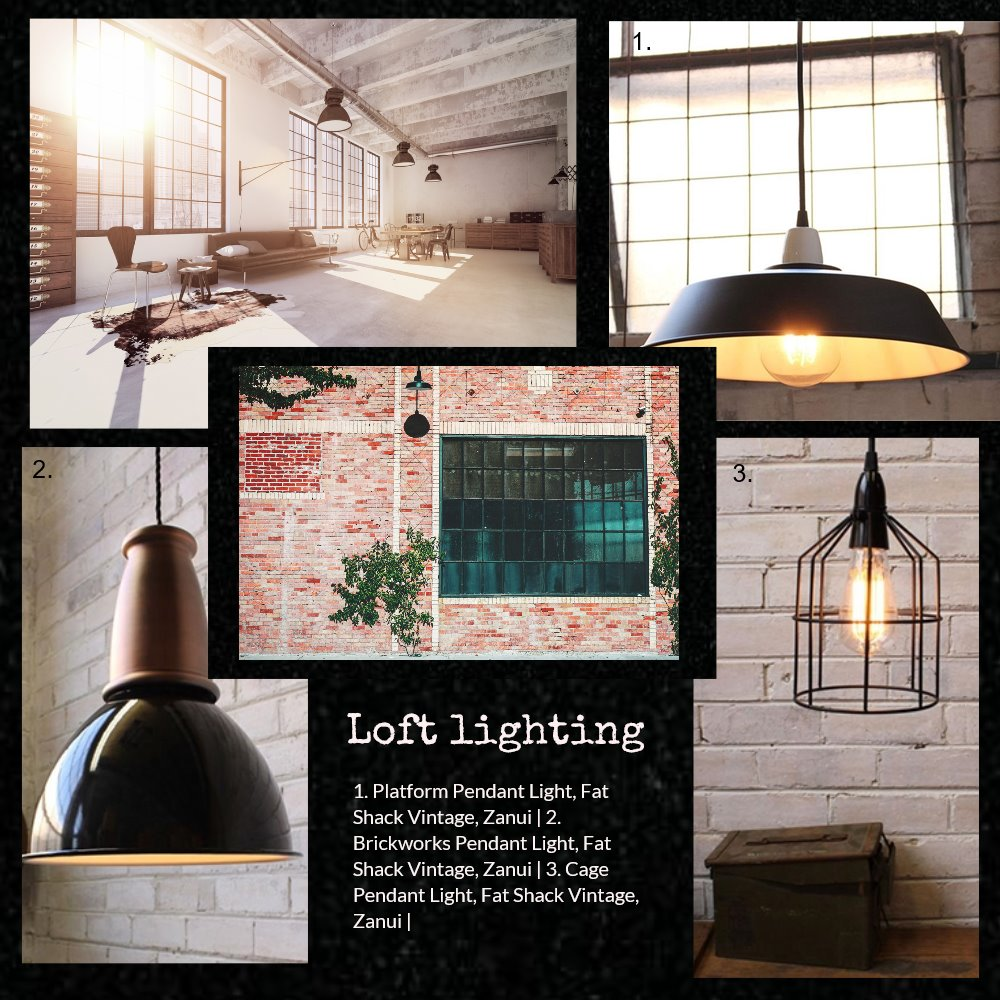 Loft lighting Mood Board by Jo Taylor on Style Sourcebook
