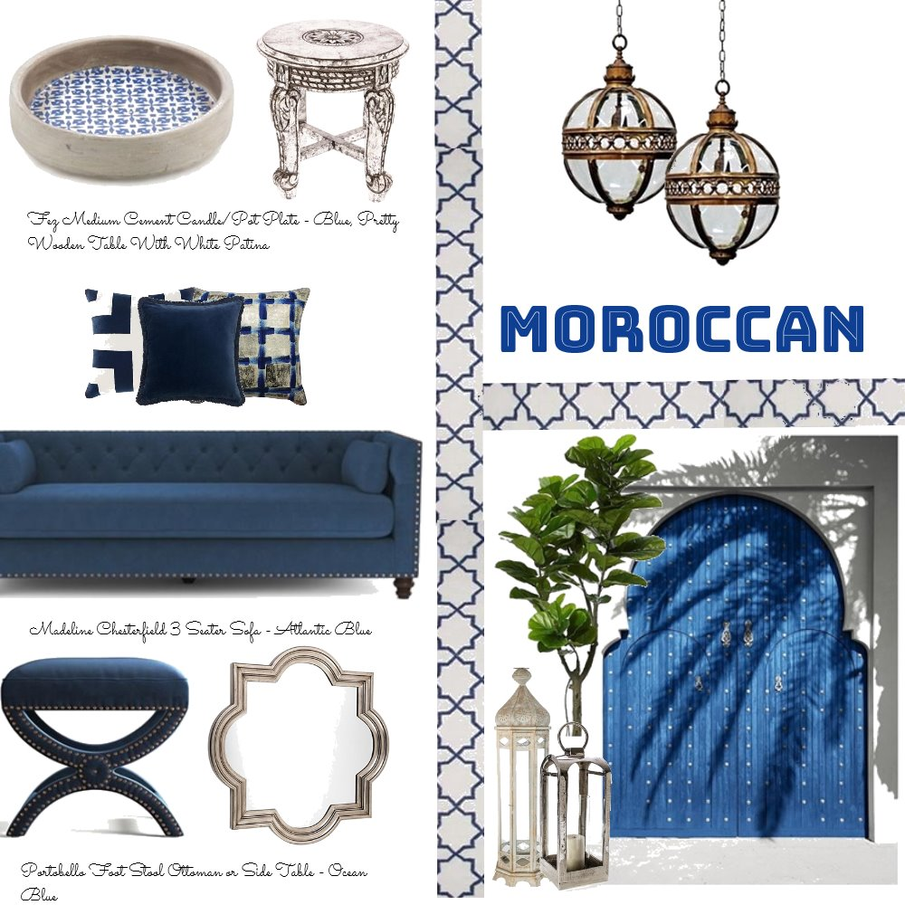 Moroccan Interior Mood Board by Jo Taylor on Style Sourcebook