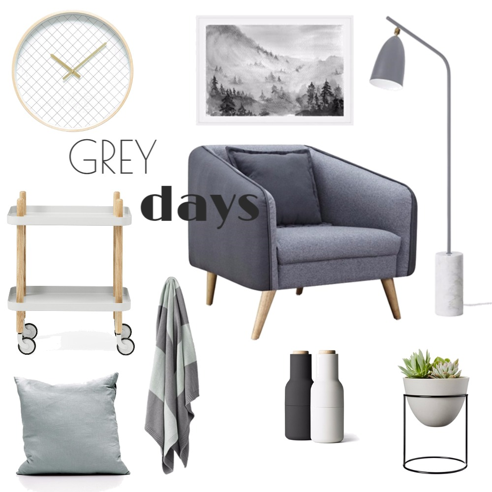 Grey Days Interior Design Mood Board by Katy Thomas Studio on Style Sourcebook