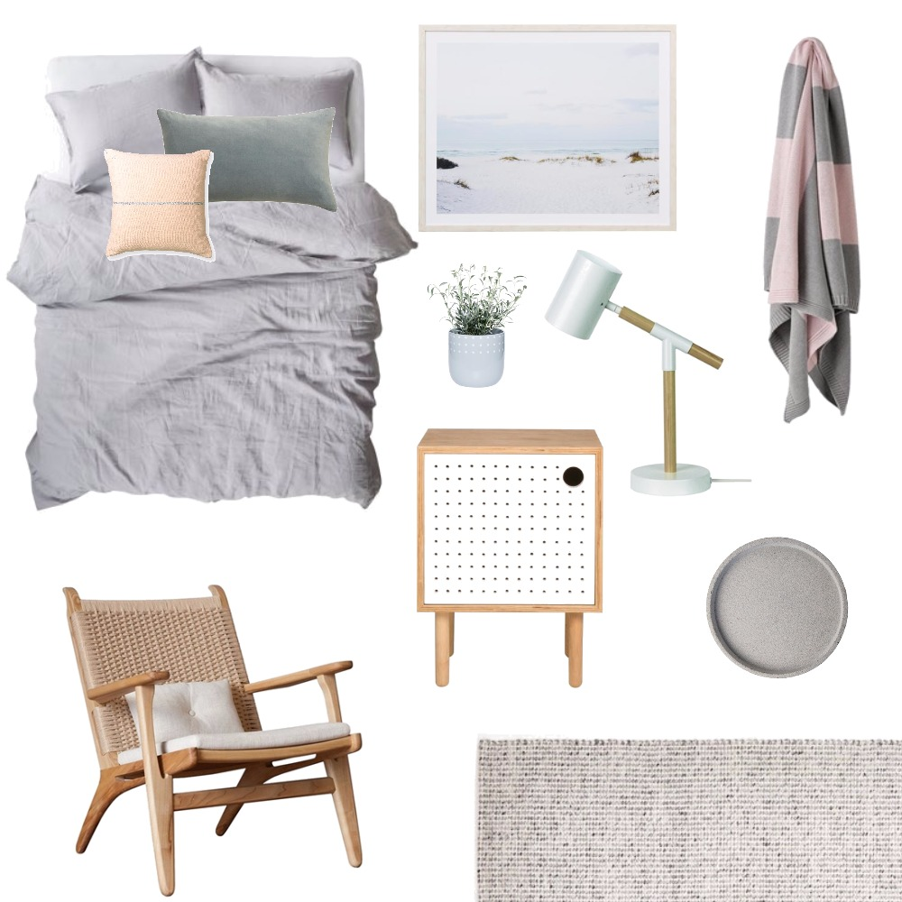 Bedroom update Mood Board by Katy Thomas Studio on Style Sourcebook