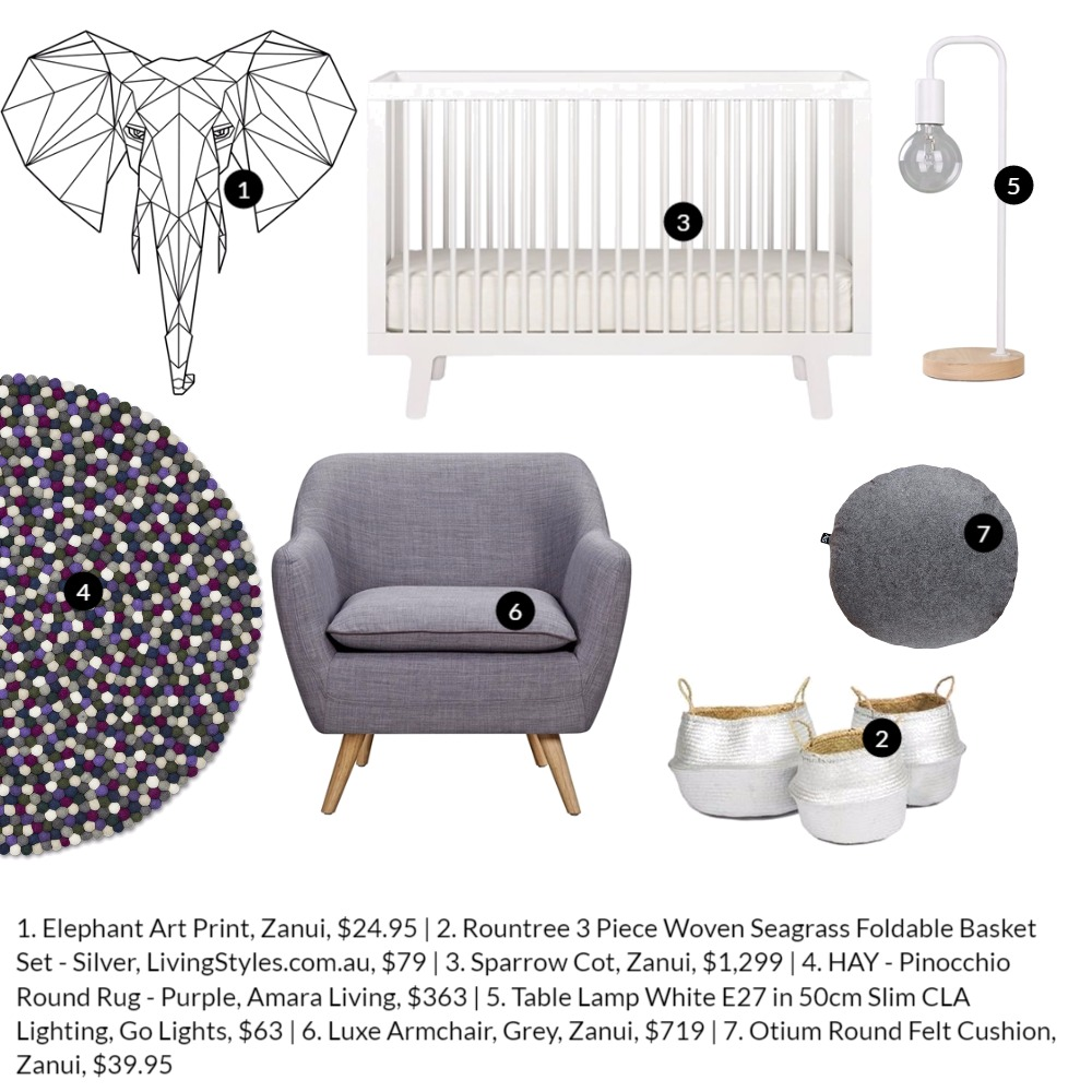 Neutral nursery Mood Board by Katy Thomas Studio on Style Sourcebook